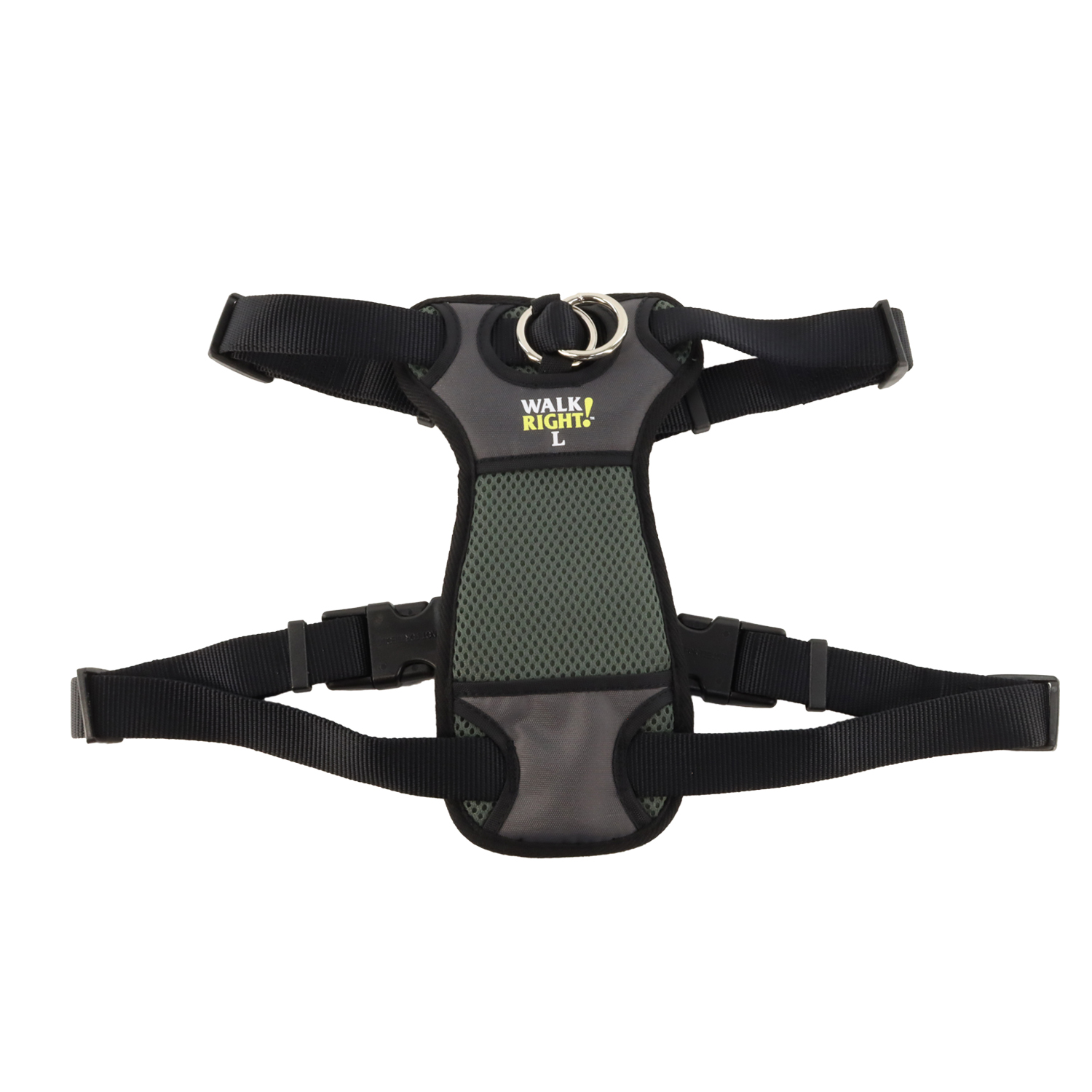 Walk Right!® Front-Connect No-Pull Padded Dog Harness