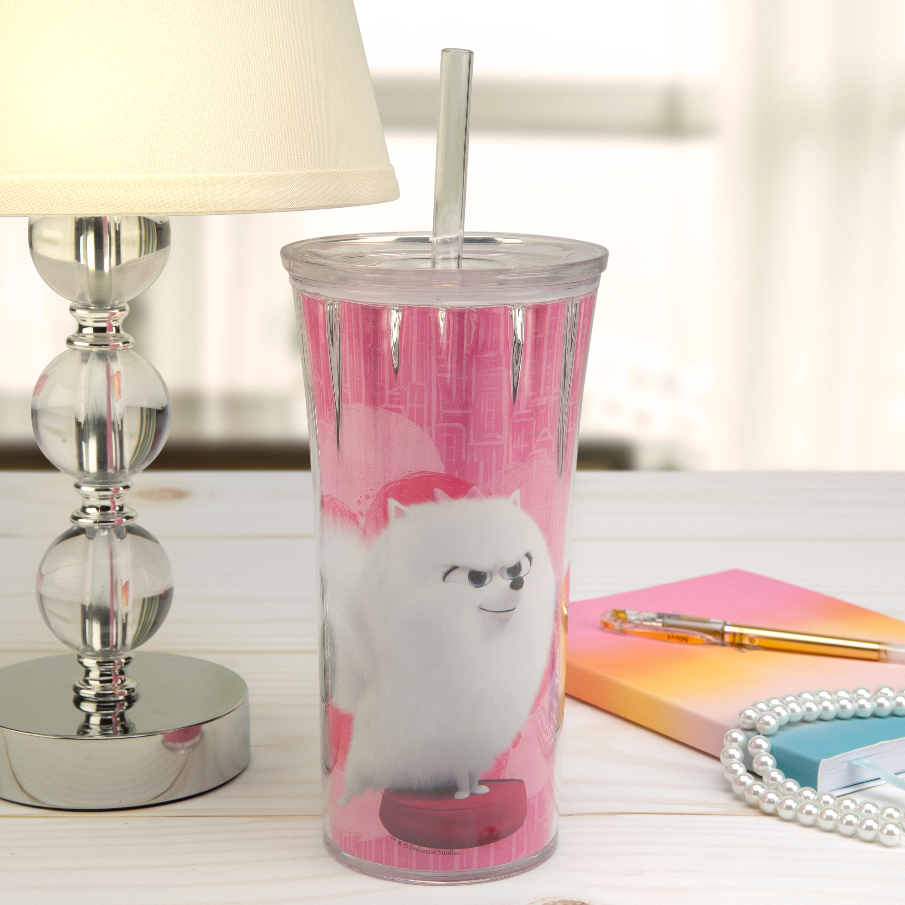 Secret Life Of Pets 2 20 ounce Insulated Tumbler, Gidget slideshow image 2