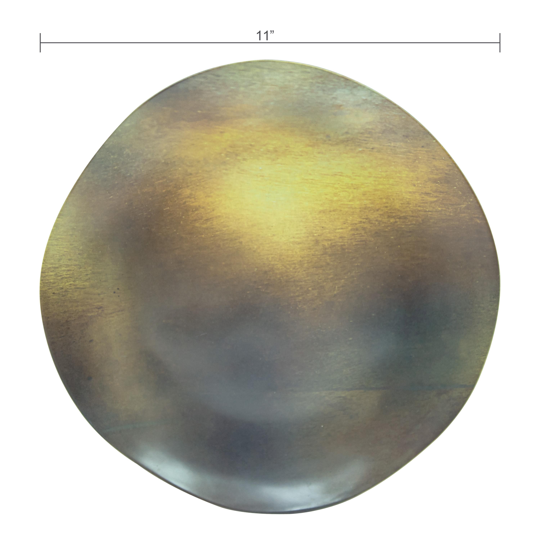Organica Dinnerware Set, Metallic, 12-piece set slideshow image 5
