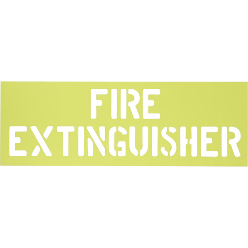 Fire Extinguisher Stencil (6