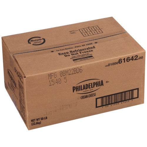 PHILADELPHIA Original Cream Cheese, 50 lb. Carton (Pack of 1)