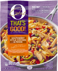 O, That's Good! Frozen Skillet Meals, Southwest Chicken and Penne, 21 oz