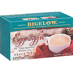 Eggnogg'n Tea - Case of 6 boxes - total of 108 teabags