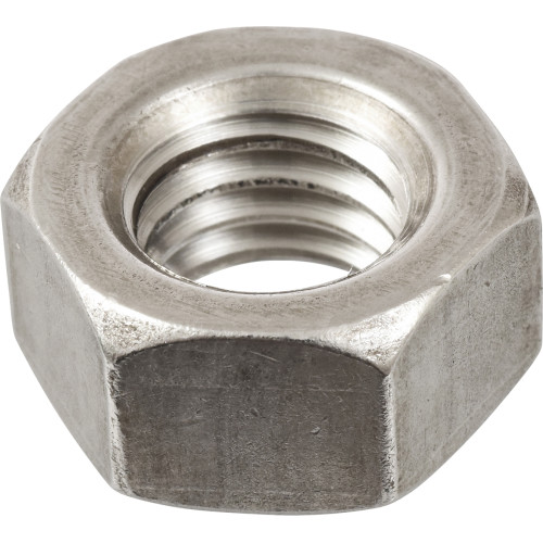 18-8 Stainless Hex Machine Screw Nut (#4-40)