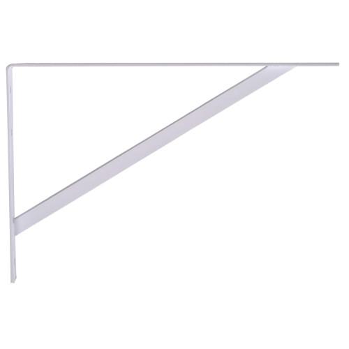 Hardware Essentials Shelf Bracket White (16