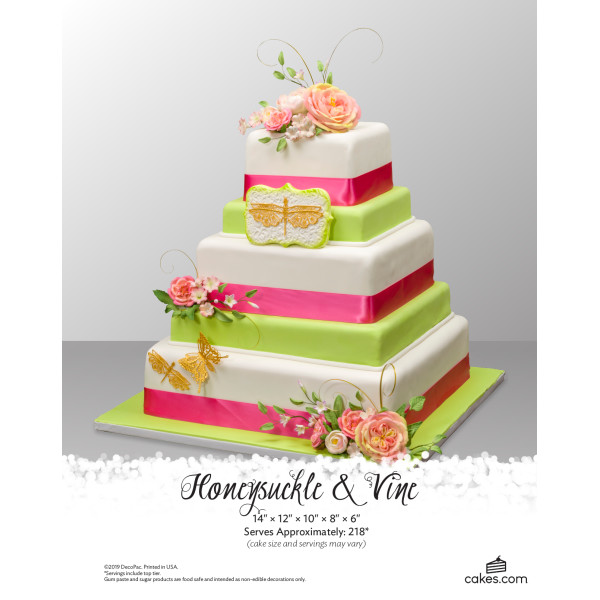 Honeysuckle & Vine Wedding The Magic of Cakes® Page