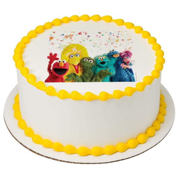 Sesame Street® 50th Anniversary PhotoCake® Edible Image®