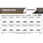 "Stainless Steel Socket-Head Cap Screws Assortment (#10-24 & 1/4""-20 Thread)"