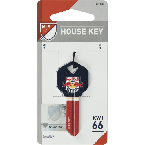NY Red Bulls Key Blank (KW1)