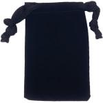 Quick-Tag Black Velvet Pouch