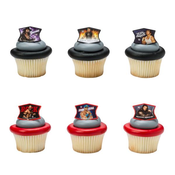 Wwe Ringleaders Cupcake Rings Decopac