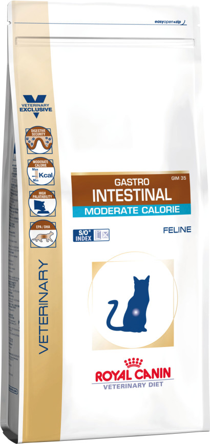 Gastro Intestinal Moderate Calorie - Cat Food - ROYAL CANIN®