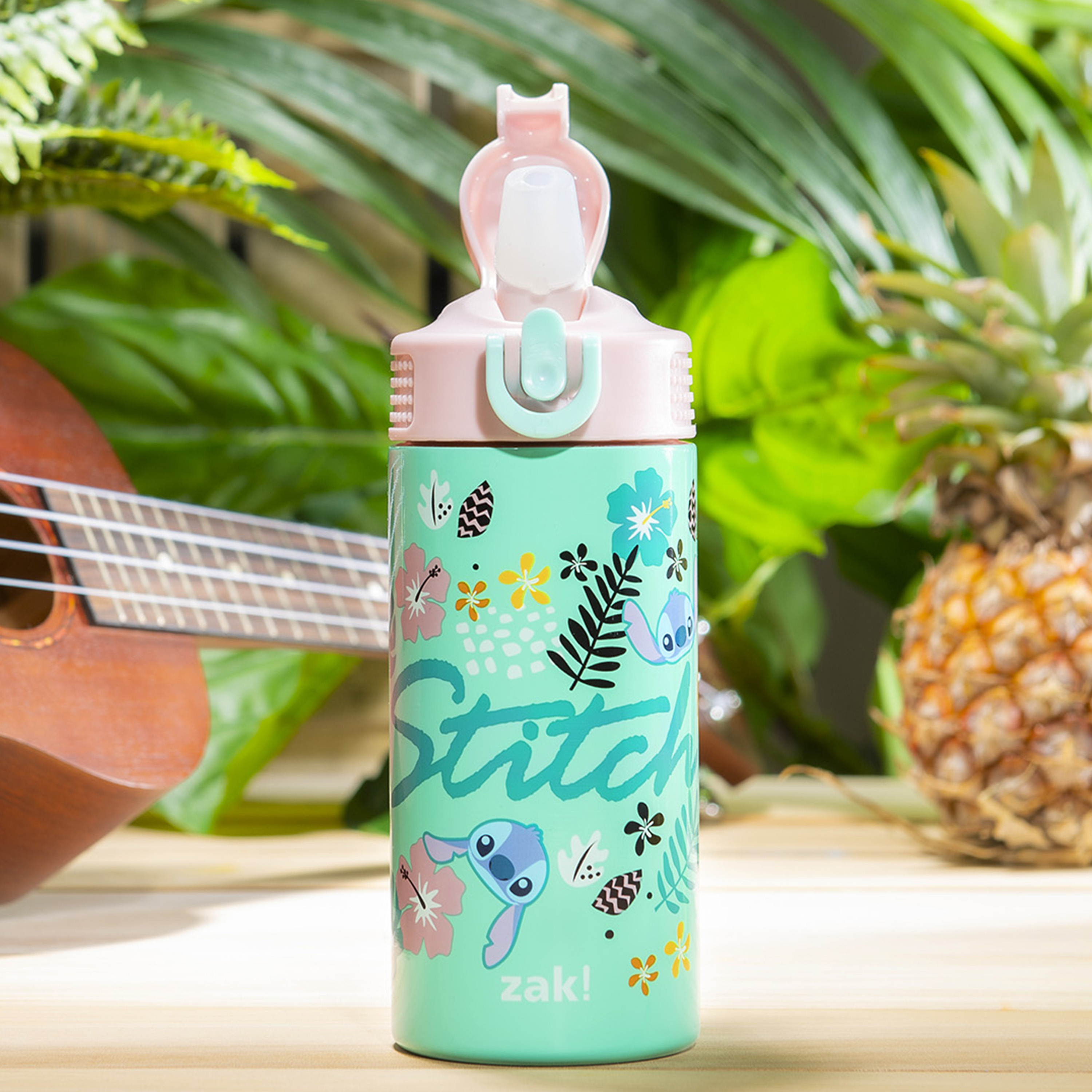 Disney 14 ounce Stainless Steel Vacuum Insulated Water Bottle, Lilo and Stitch slideshow image 2