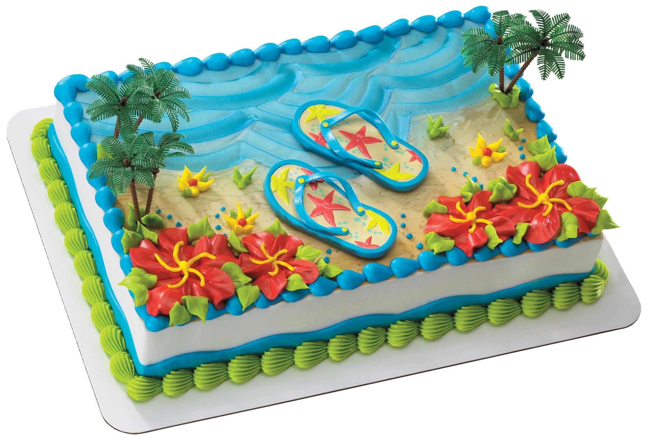 пляж картинки для торта учащихся