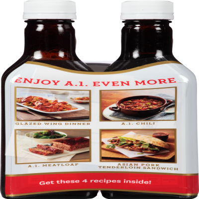 A.1. Original Steak Sauce 2 - 15 oz Bottles