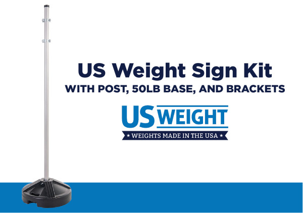 Sign Post Kit - Prefilled Base 2