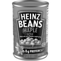 Heinz Maple Style Beans with Pure Quebec Maple Syrup