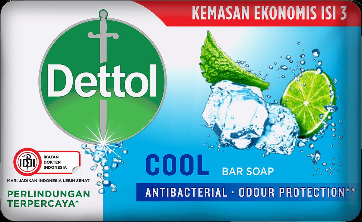 Sabun Anti Bakteri Dettol Cool