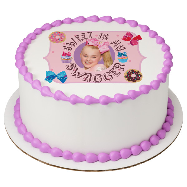 Jojo Siwa Sweet Is My Swagger Photocake 174 Edible Image