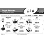 Toggle Switches Assortment (Quick Connect & Double Insulated)