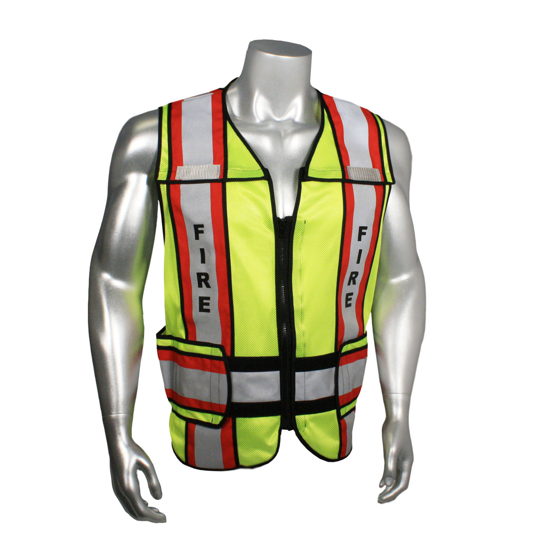 Radwear USA LHV-207-4C-EMS EMS Safety Vest