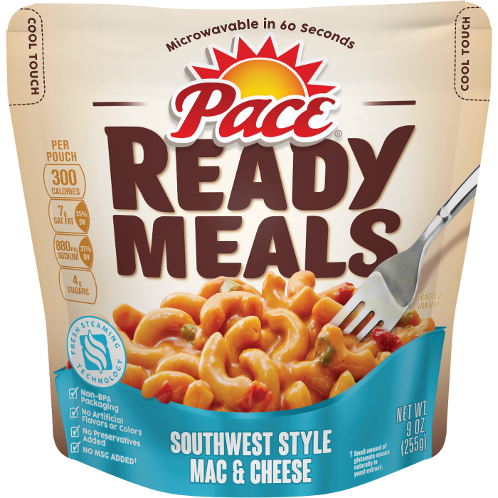 Southwest Style Mac & Cheese Meal