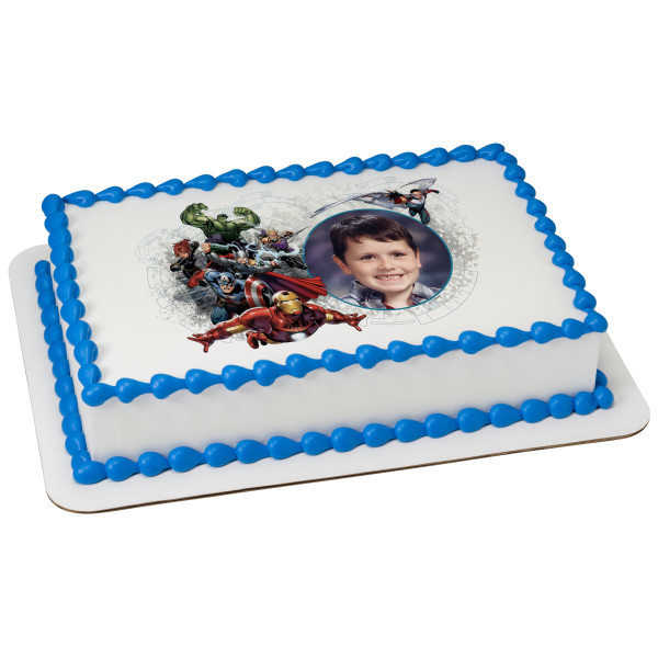 MARVEL Avengers Assembled PhotoCake® Edible Image® Frame