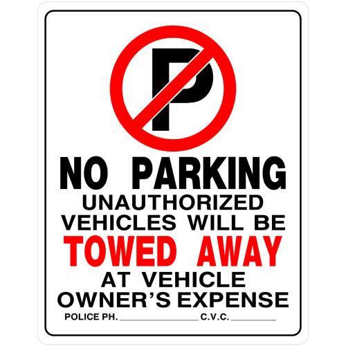No Parking Sign (19