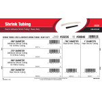 Heavy Duty Heat & Adhesive Shrink Tubing Assortment