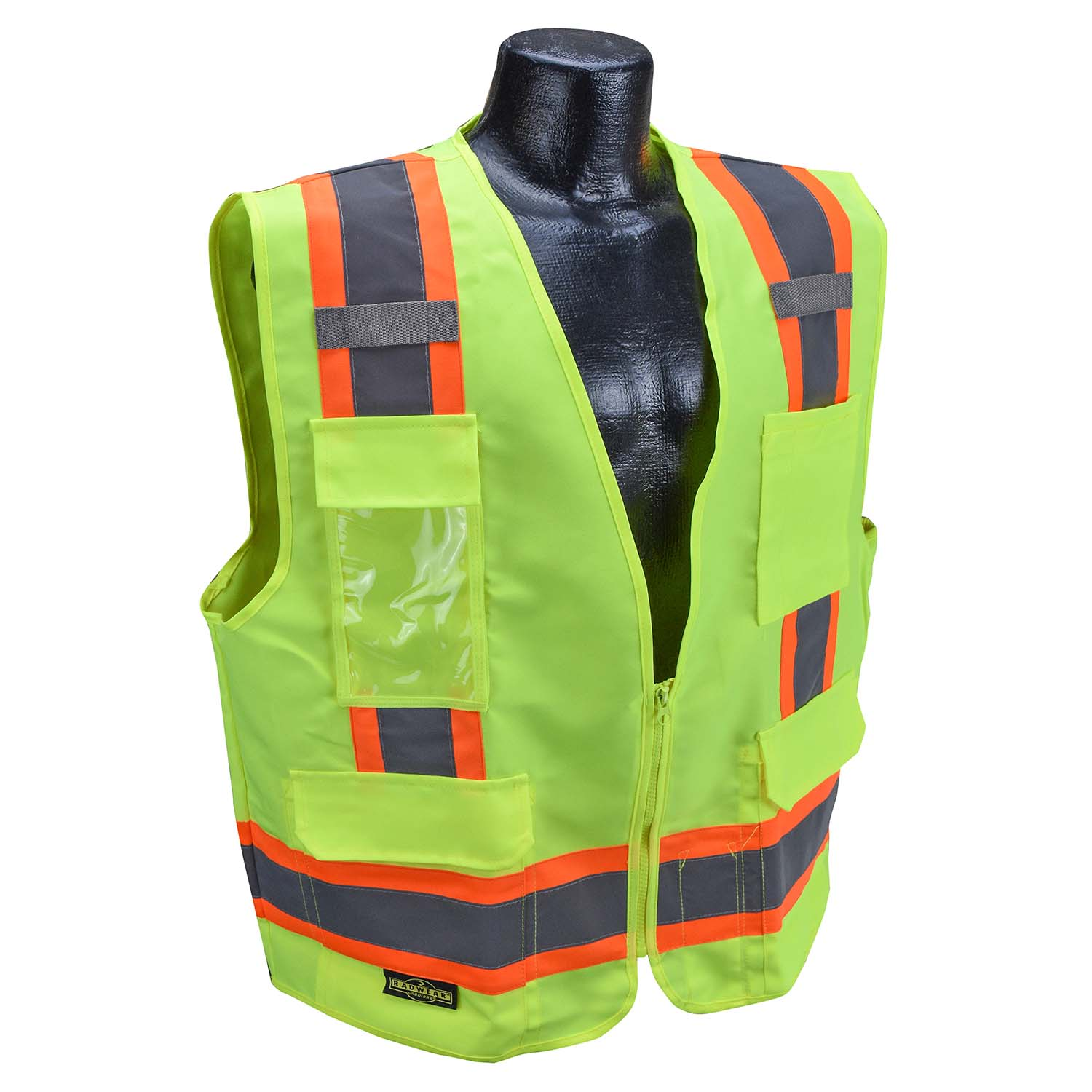 Radians SV62 Type R Class 2 Surveyor Heavy Duty Solid Twill Safety Vest