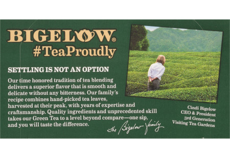 Front Green Tea with Elderberry plus Vitamin C box