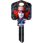 Disney Alice in Wonderland - Mad Hatter Key Blank