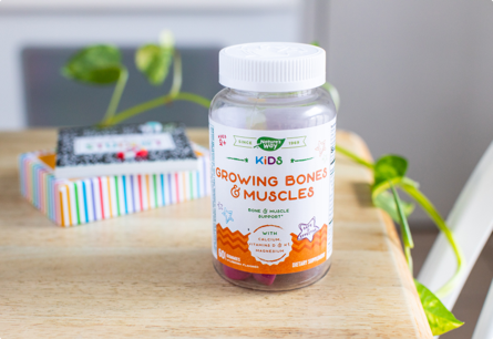 Bone and Muscle Support for Kids 2+*