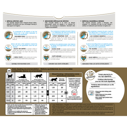 Royal Canin Feline Breed Nutrition Sphynx Dry Cat Food