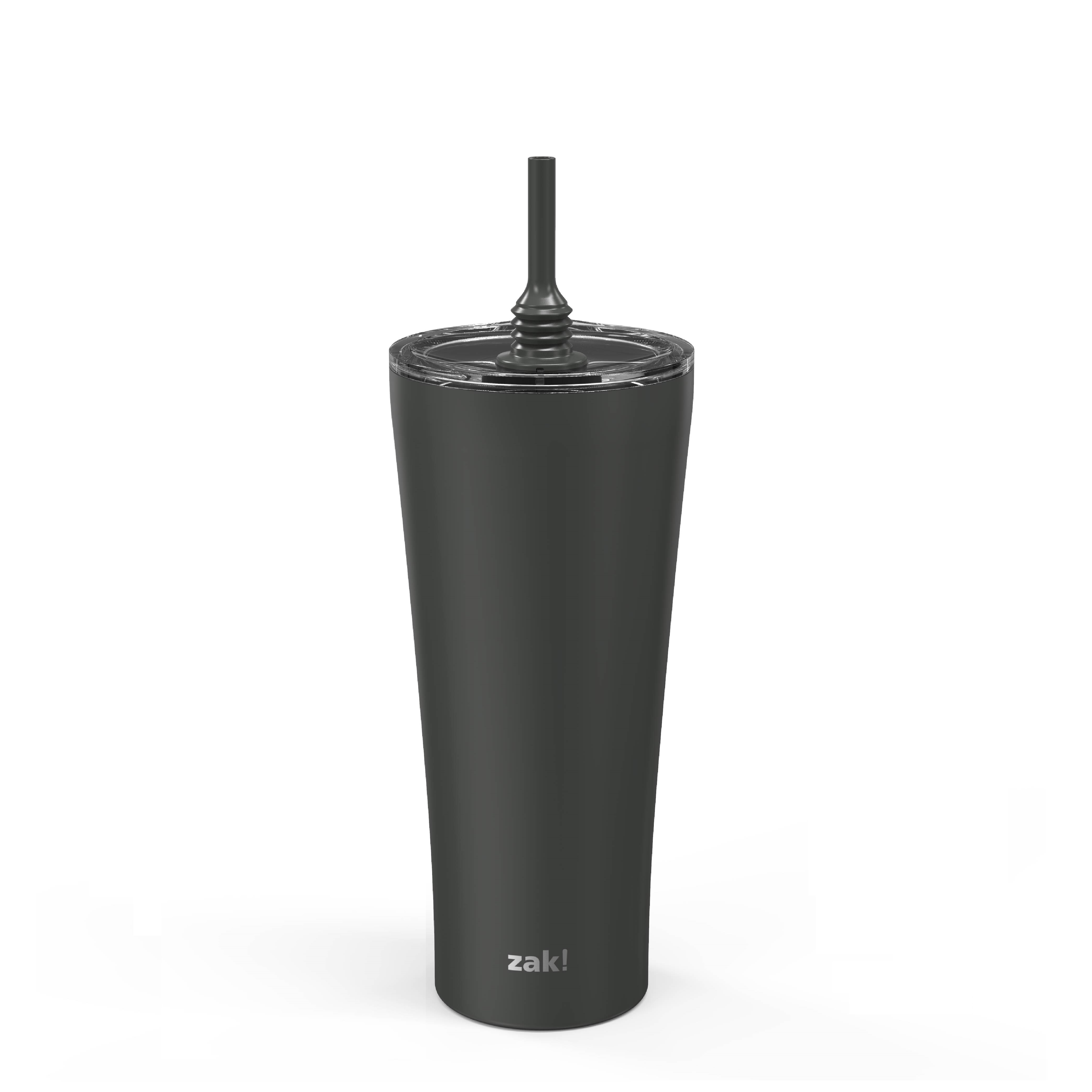 Alfalfa 30 ounce Vacuum Insulated Stainless Steel Tumbler, Charcoal slideshow image 7