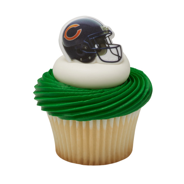 NFL Chicago Bears Cupcake Rings