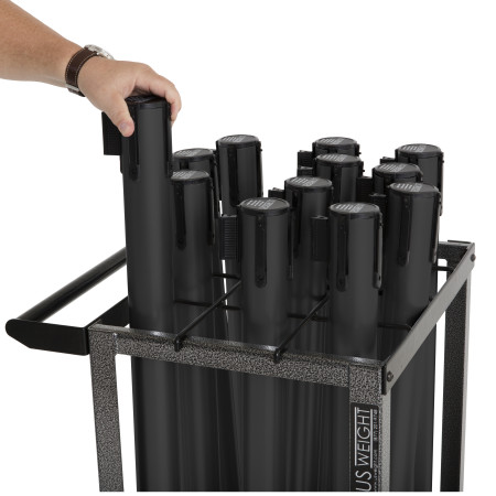 Statesman Cart Bundle - Black Steel 15