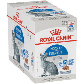 Indoor Adult Loaf in Gravy Pouch Cat Food