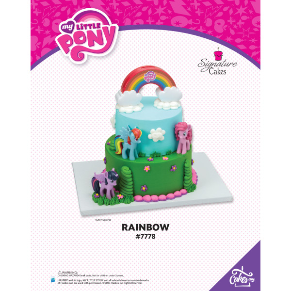 My Little Pony Rainbow The Magic of Cakes® Page