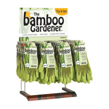 Bellingham Bamboo Latex Palm Glove Countertop Display