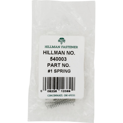 Hillman #1 compression Spring