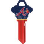 MLB Atlanta Braves Key Blank