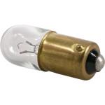 Bayonet Base Bulb for Appliances, Radios, TVs (6.3V x 0.15 Amp)