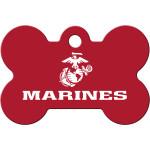 Marines Large Bone Quick-Tag