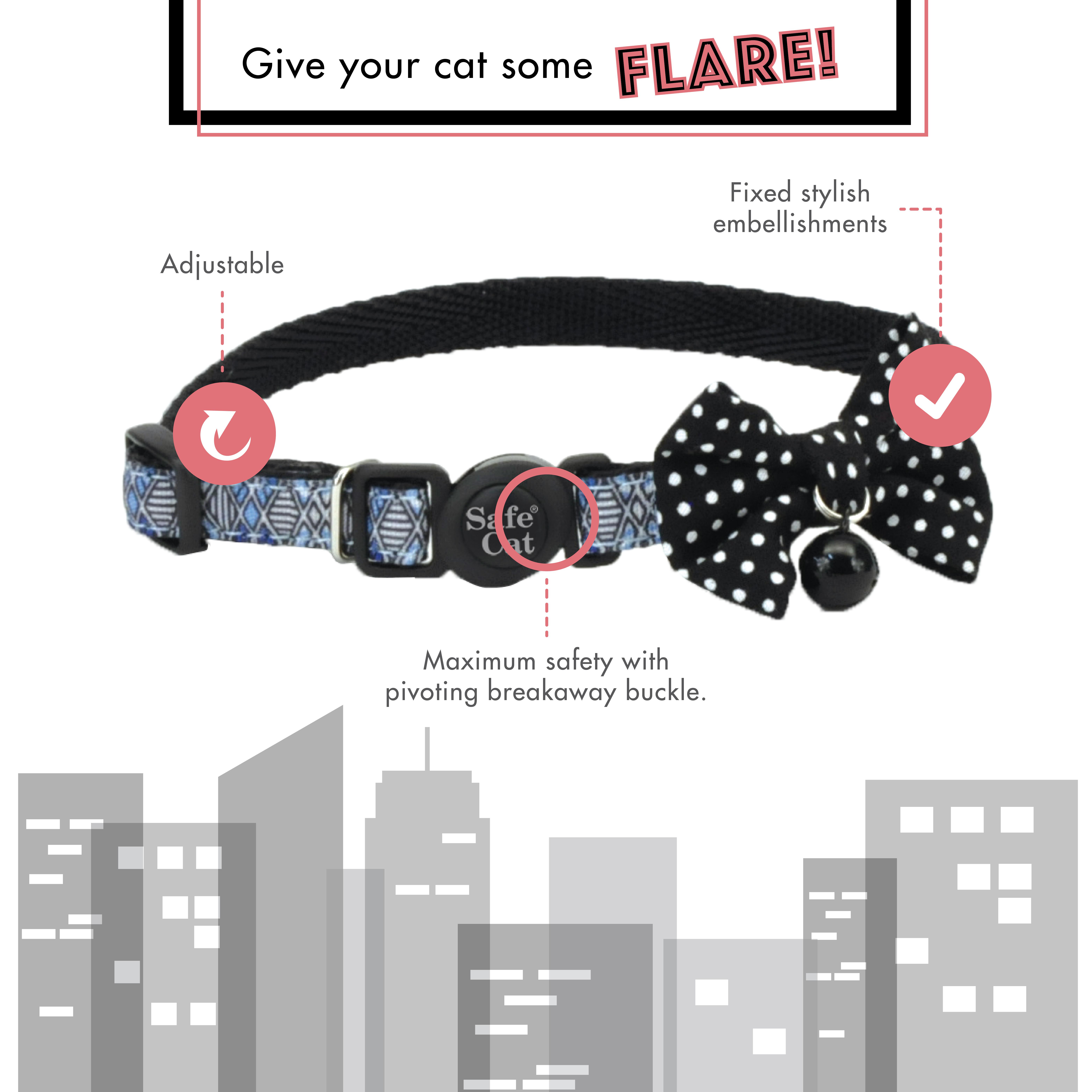 Safe Cat® Embellished Fashion Collar