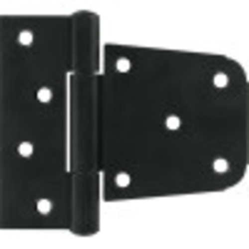 Builders Hardware Black Heavy Duty T-Hinges 3-1/2