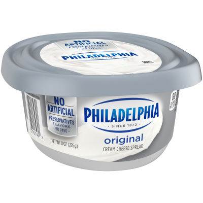 Philadelphia Plain Cream Cheese Spread 8 oz Tub