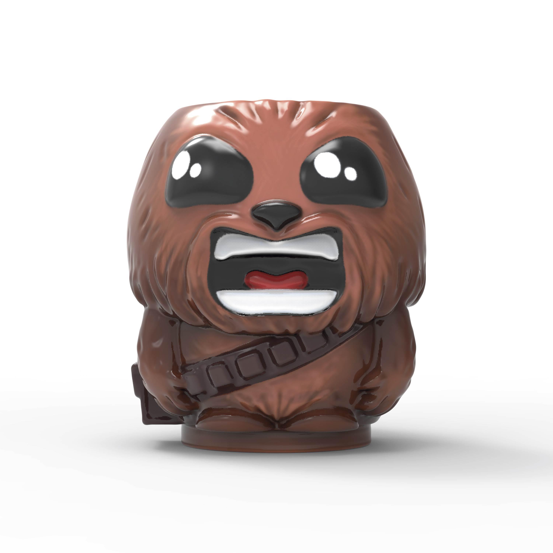 Star Wars 13 ounce Coffee Mug and Spoon, Chewbacca slideshow image 2