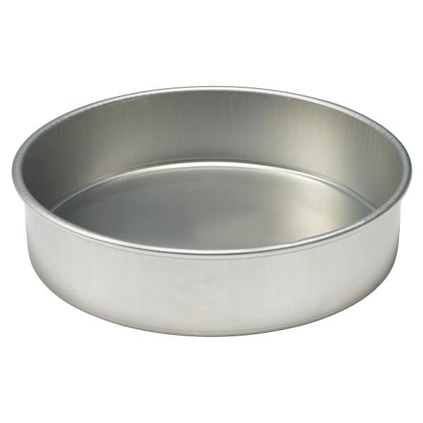 """16 Gauge Round Aluminum 12""""W x 3""""H Pan"""