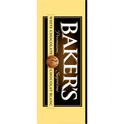 Baker's 100% Pure Premium White Chocolate Baking Bar